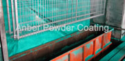 Fence PVC coating line
