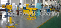 Wire PVC coating line