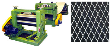 expanded metal mesh production line
