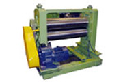 decoiler for the expanded metal mesh machine