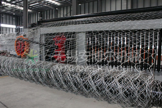 Gabion box mesh machine