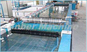 Zinc pool of wire galvanizing line