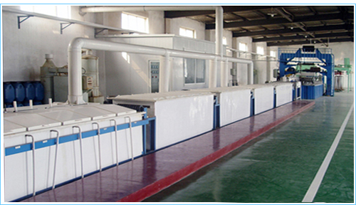hot dipped wire galvanizing line