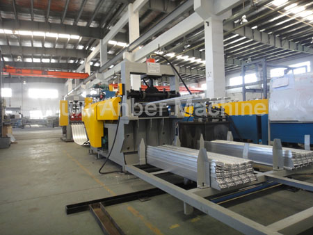 High-rib lath production line
